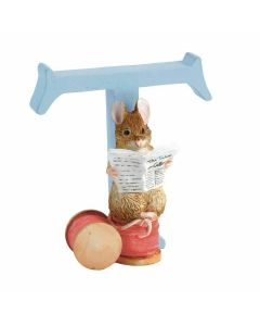 T Alphabet Letter Tailor of Gloucester Figurine Beatrix Potter A5012
