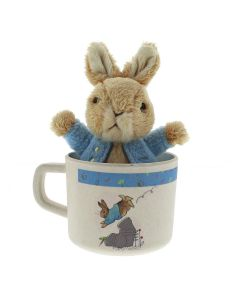 Peter Rabbit Mug & Toy Set Beatrix Potter | A28837