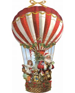 Coppenrath Hot Air Balloon Large Wall Advent Calendar 94571