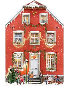 Coppenrath Christmas at the Mansion Wall Advent Calendar 94389
