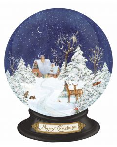 Coppenrath Winter Forest Snow Globe Large Wall Advent Calendar 94712