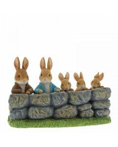 Beatrix Potter Benjamin, Peter & Flopsy Figurine | A29859