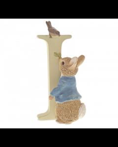 I Alphabet Letter Peter Rabbit Figurine Beatrix Potter by Enesco A5001