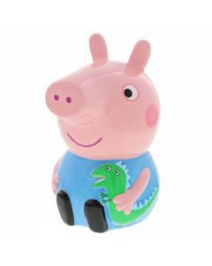 George Ceramic Money Bank Peppa Pig by Enesco A29709