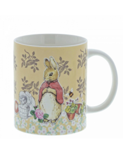 Beatrix Potter Flopsy Bunny China Mug Enesco A29232