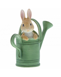 Beatrix Potter Peter in Watering Can Mini Figurine A28296