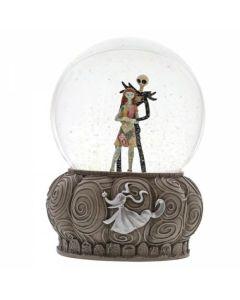 Disney Showcase Nightmare Before Christmas Jack & Sally Waterball Snowglobe | 4060078