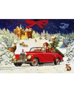Coppenrath Santa's Road Trip Traditional Advent Calendar 71520