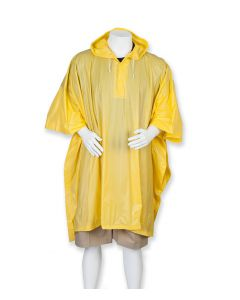 Rain Poncho with pouch 3100-AD Yellow