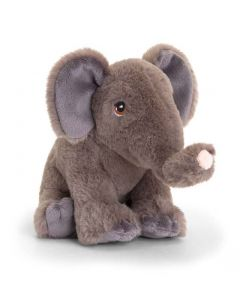 SE6118 Keeleco Elephant soft toy 18cm (7 inches) by Keel Toys