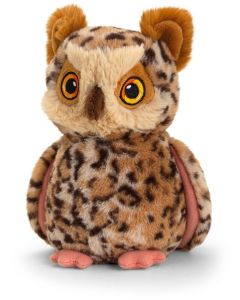SE6425 Keeleco Owl soft toy 19cm (7.5 inches) by Keel Toys