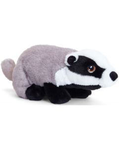 SE6700 Keeleco Badger soft toy 25cm (10 inches) by Keel Toys