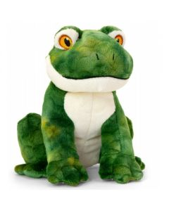 SE6706 Keeleco Frog soft toy 18cm (7 inches) by Keel Toys