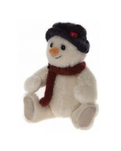 CBK655523A Shake Snowman Mohair Keyring by Charlie Bears