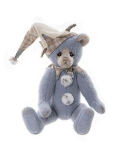 Charlie Bears Bib Wool Teddy Bear Limited Edition SJ2100A