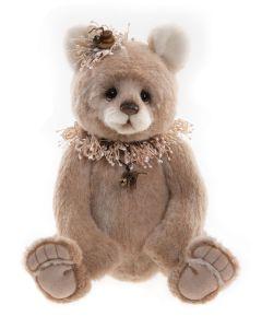 Charlie Bears Barley Alpaca Teddy Bear Limited Edition SJ6147A