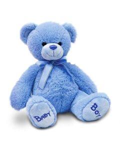 SN4823 Blue Baby Boy Plush Soft Toy by Keel Toys 25cm