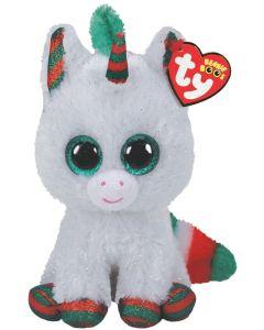 TY Snowfall Unicorn Beanie Boo 15cm 36238