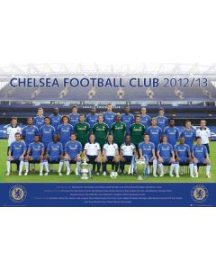Chelsea Football Club Team Poster 2012/2013 SP0878