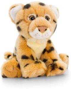 SW0839 Sitting Cheetah Plush Soft Toy by Keel Toys 18cm