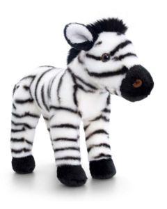 SW0988 Zebra Plush Soft Toy by Keel Toys 25cm