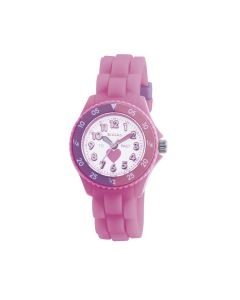 Tikkers heart watch - pink - TK0003