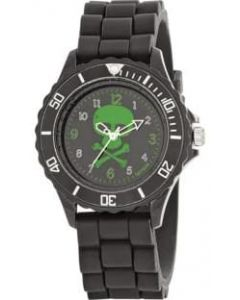 Tikkers Black water resistant watch skull and crossbones