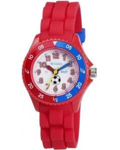 Tikkers Football Watch - Red - TK0040
