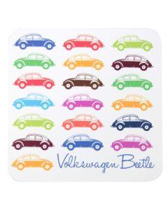 official volkswagen beetle 4 piece coaster set-1