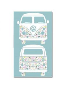 Volkswagen Campervan Tea Towel officially licensed. By Elgate 68051.