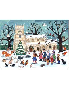 Winter Wildlife Advent Calendar by Alison Gardiner AC11