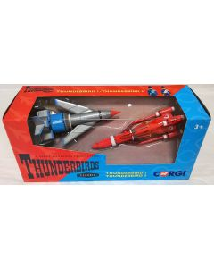 Corgi Thunderbirds set  – Thunderbirds 1 & Thunderbird 3 CC00901