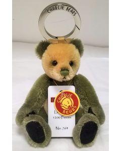 CBK635295C Welly Mini Mohair Keyring by Charlie Bears
