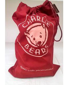 CBPOSLB Charlie Bears Canvas Gift Bag Large