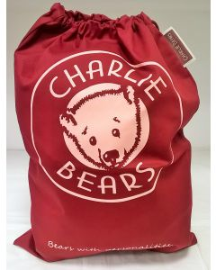 CBPOSMB Charlie Bears Canvas Gift Bag Medium