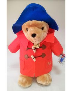 Paddington Bear in Red Coat Large Classic and Cuddly 40cm Soft Toy by Rainbow Designs PA1101