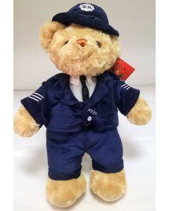 SL4151 Policeman Teddy Bear 25cm by Keel Toys