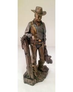 70119 John Wayne Standing with saddle Figure