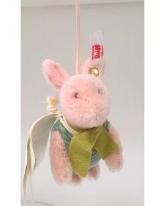 Steiff Piglet Hanging Ornament 9cm 683152