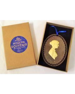 Jane Austen Commemorative Decoration 8cm