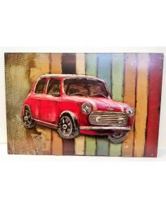 PG1388 Retro Mini Metal Wall Art