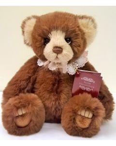 CB191952C Lanson Plush Teddy Bear by Charlie Bears
