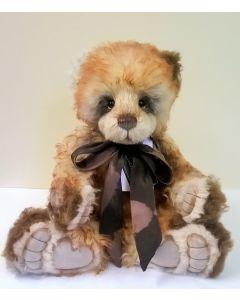 SJ5952 Kennedy Mohair Teddy Bear Charlie Bears