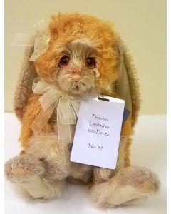 SJ5929B Peaches Mohair Rabbit Charlie Bears