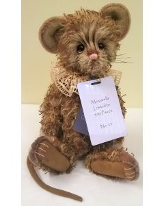 SJ5927A Mozzarella Mouse Mohair Charlie Bears