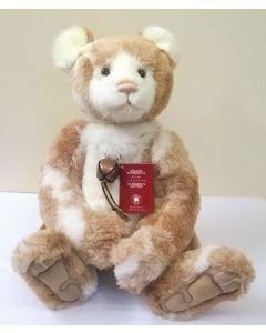 CB181842A Bessie Plush Teddy Bear by Charlie Bears