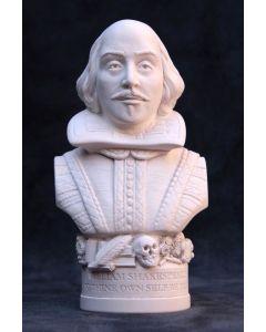 William Shakespeare Plaster Bust 12cm