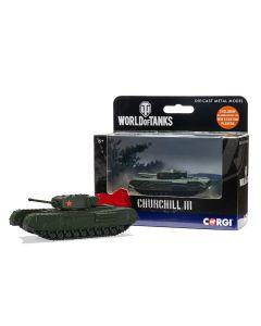 Corgi WT91204 World of Tanks Churchill Mk.III
